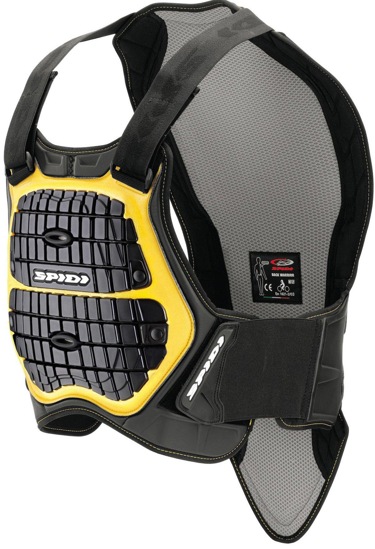 Защита спины и груди SPIDI DEFENDER B&C 170-180 Black/Yellow