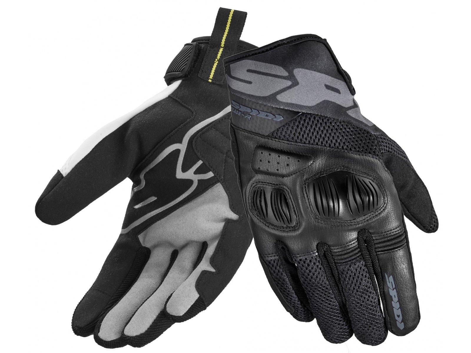 Перчатки Spidi Flash-R Evo Black