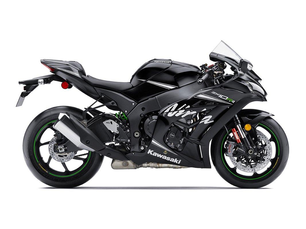 Мотоцикл KAWASAKI Ninja ZX-10RR Черный (2018)