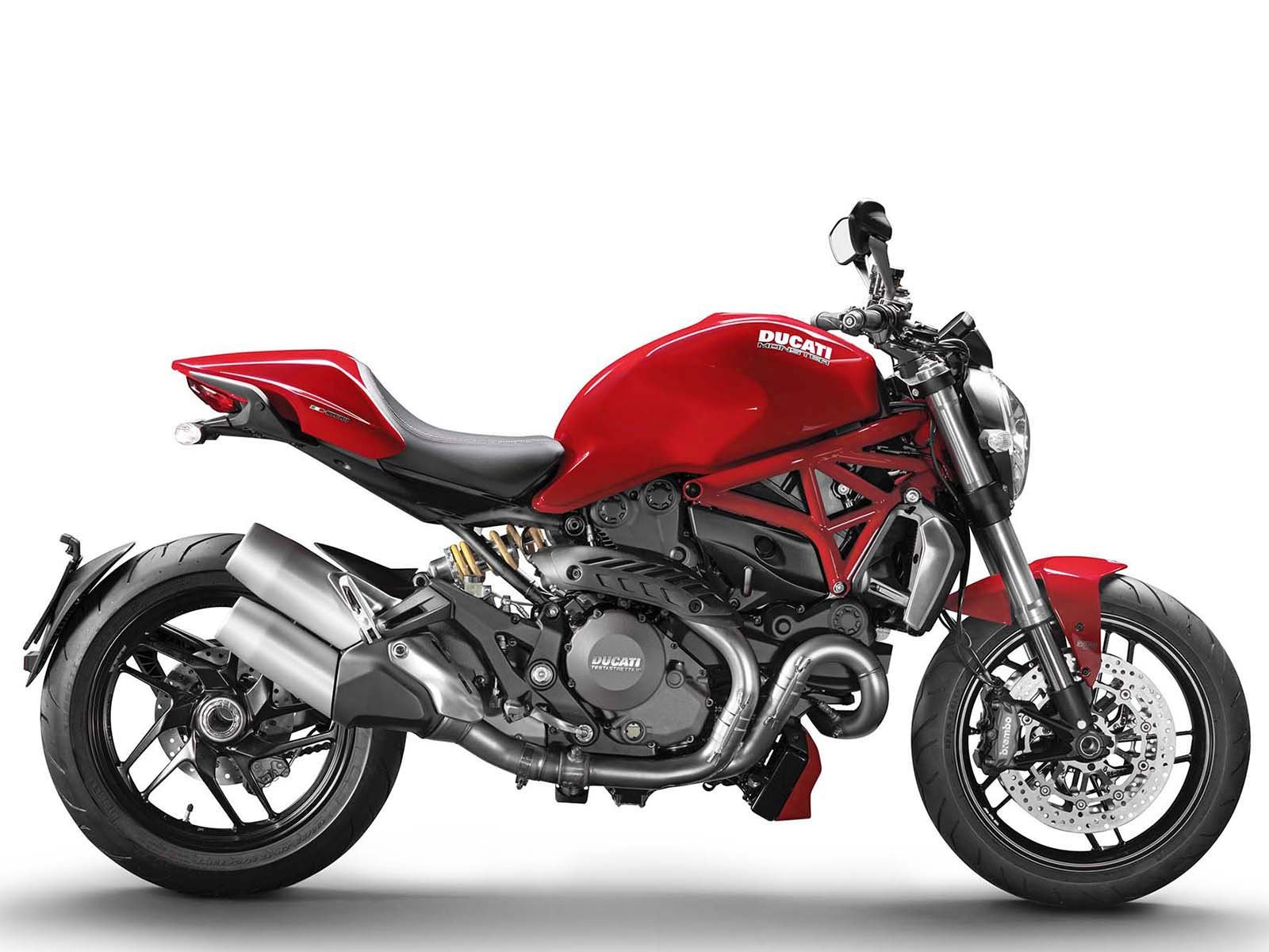 Мотоцикл DUCATI Monster 1200 S - Ducati Red (2019)