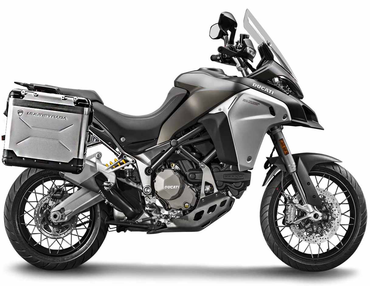Мотоцикл DUCATI Multistrada 1200 Enduro - Phantom Grey или Star White Silk + Touring Pack (2018)