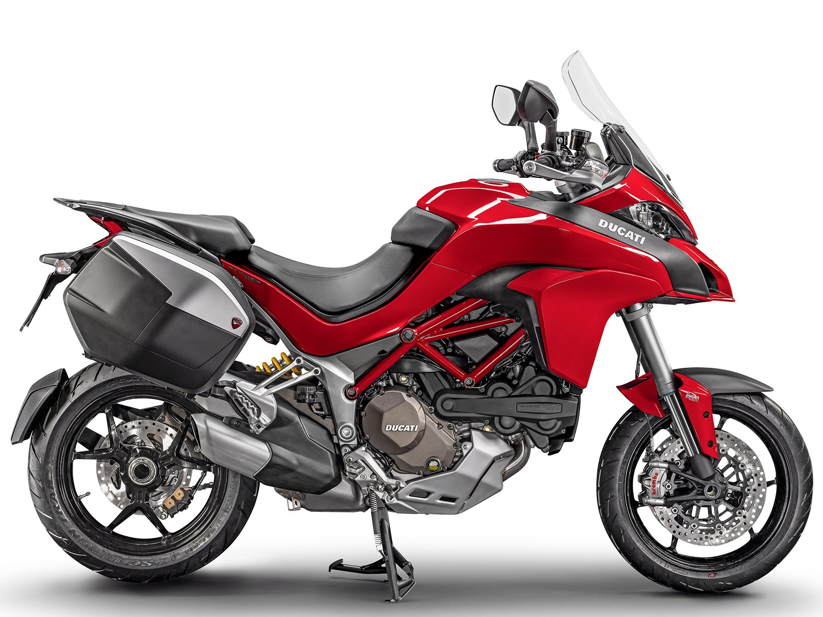 Мотоцикл DUCATI Multistrada 1200 S - Red + Touring Pack (2017)