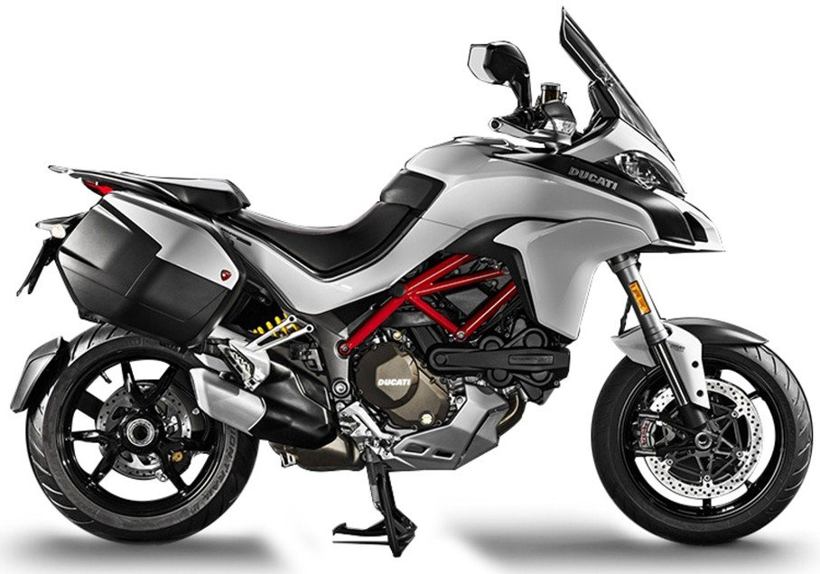 Мотоцикл DUCATI Multistrada 1200 S Iceberg White / Volcano Grey Touring Package (2017)