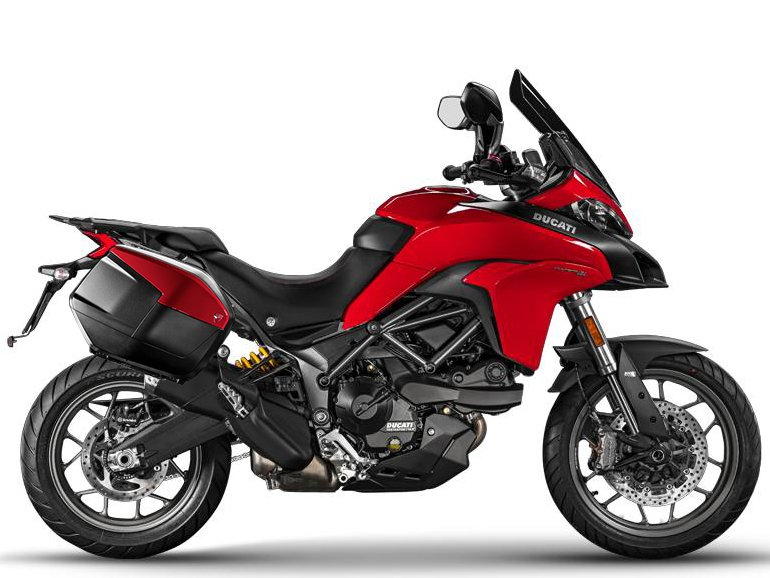 Мотоцикл DUCATI Multistrada 950 - Red + Touring Pack (2017-2018)