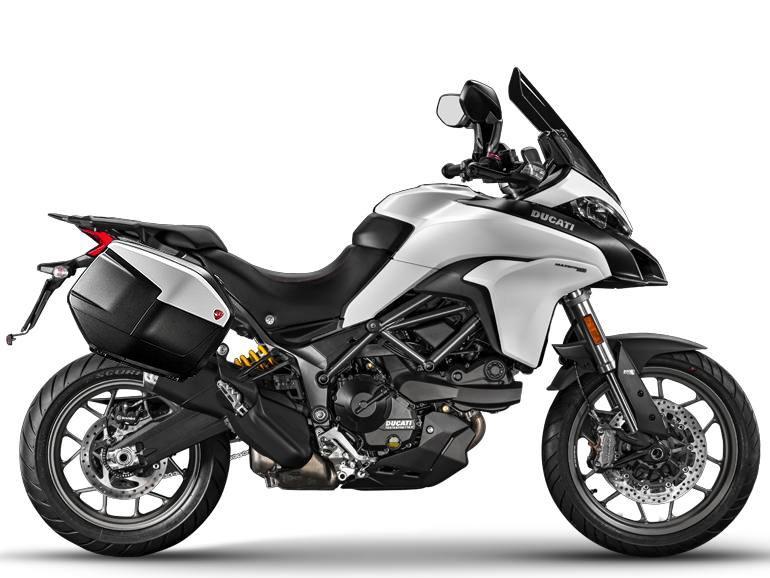 Мотоцикл DUCATI Multistrada 950 - Star White Silk + Touring Pack (2018)