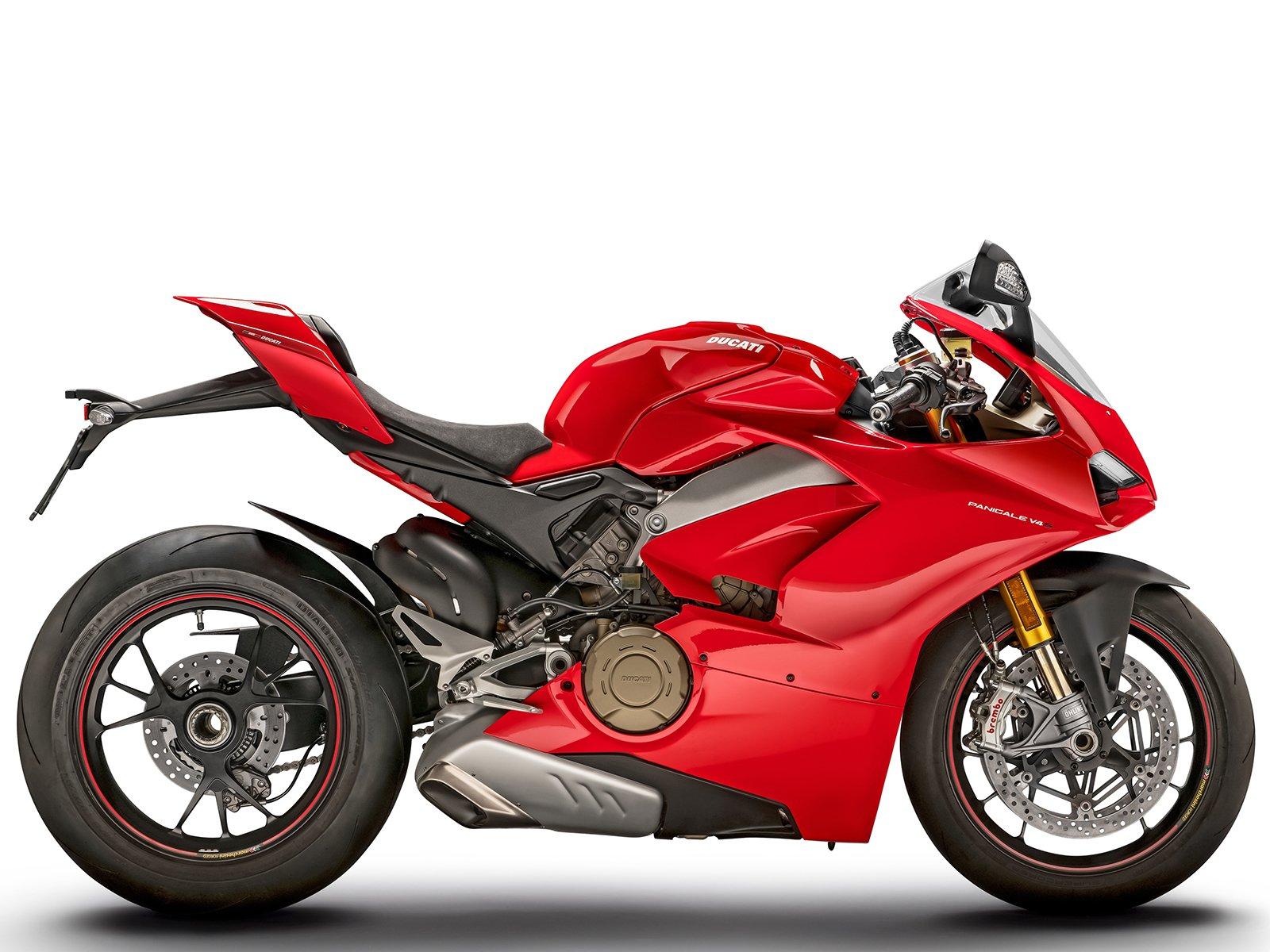 Мотоцикл DUCATI Panigale V4 S - Ducati Red (2019)