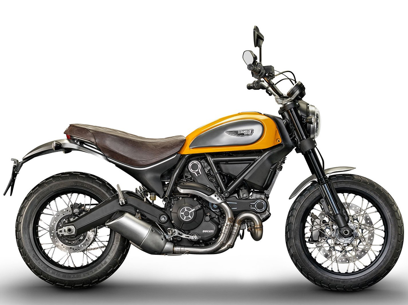 Мотоцикл DUCATI Scrambler Classic - Orange (2018)