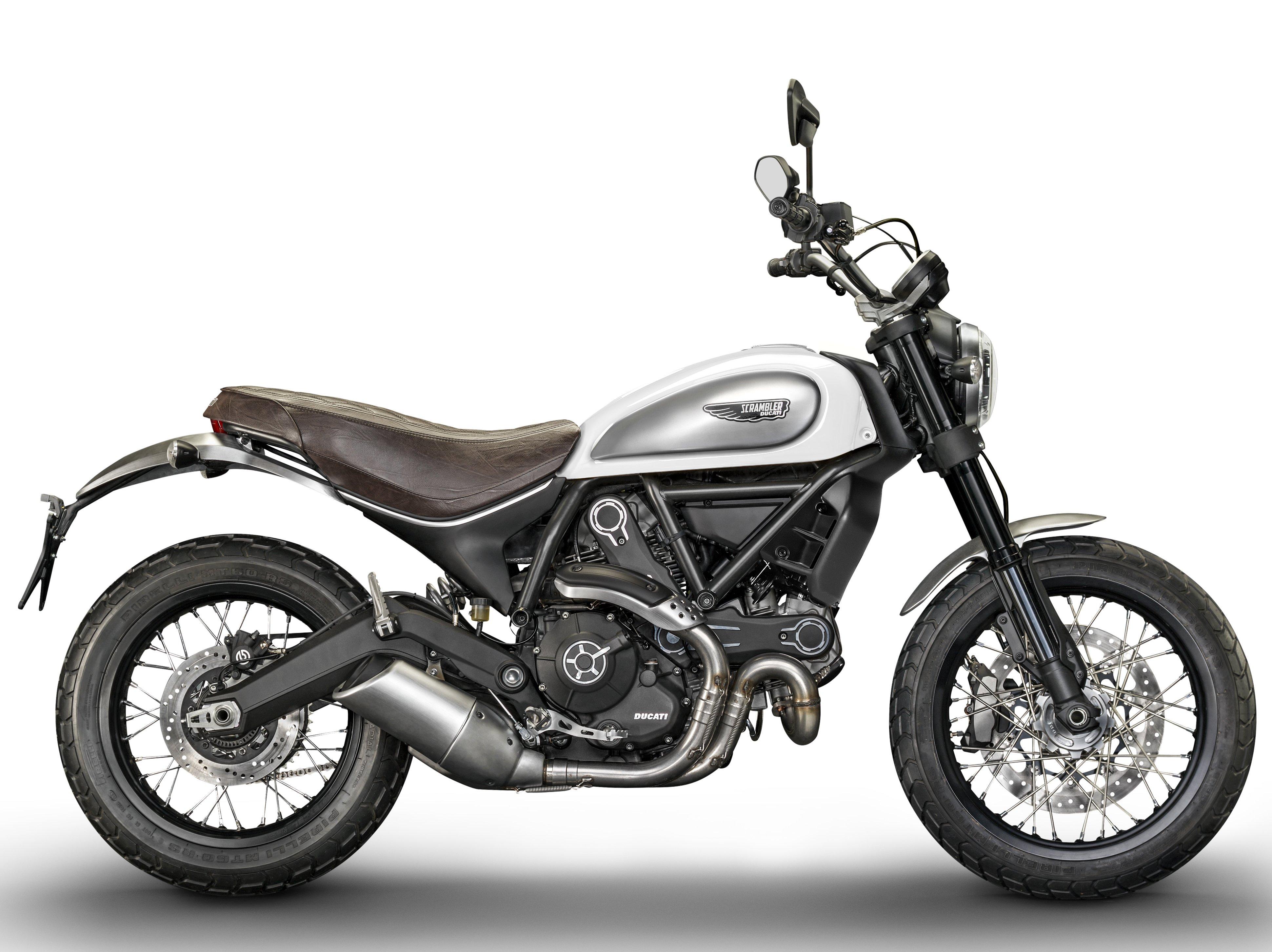 Мотоцикл DUCATI Scrambler Classic - White (2018)
