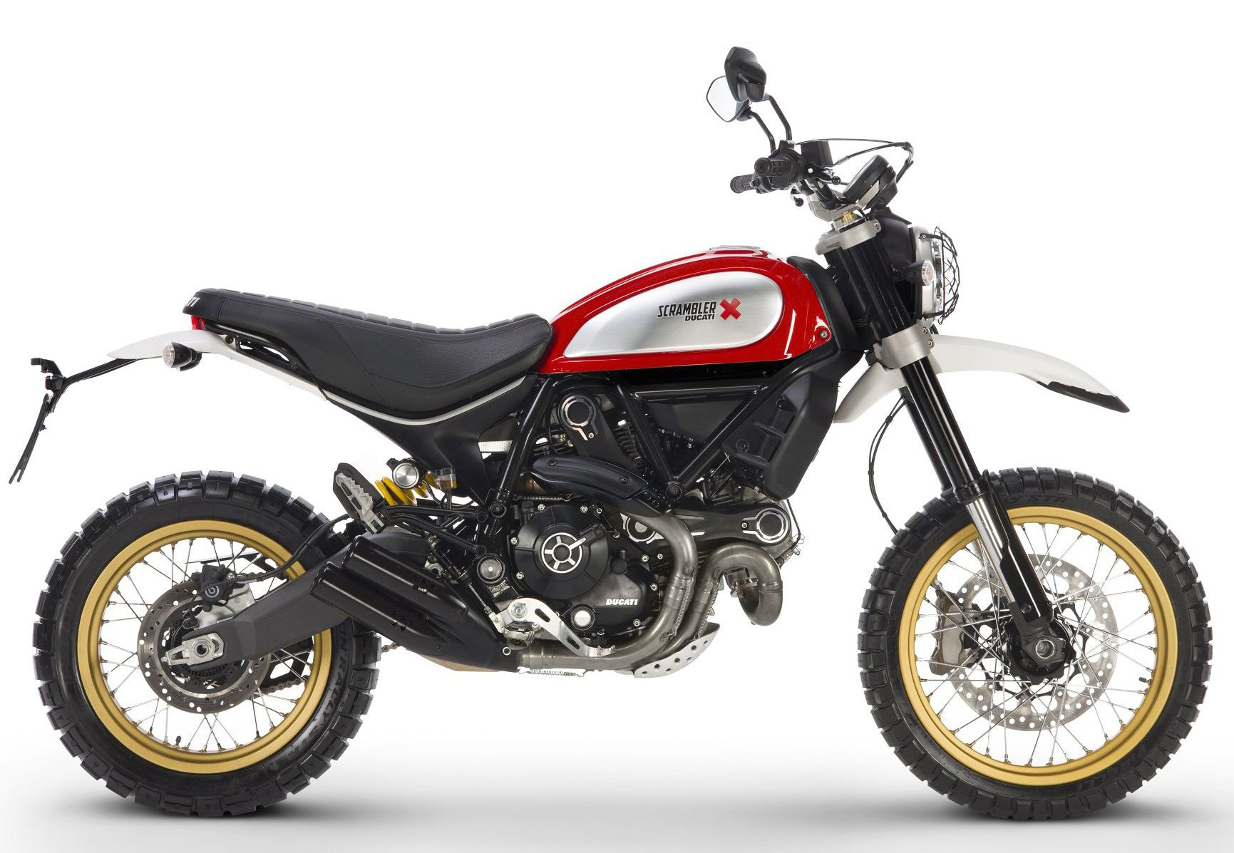 Мотоцикл DUCATI Scrambler Desert Sled - Red (2018)