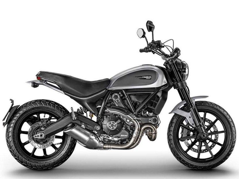 Мотоцикл DUCATI Scrambler Icon - Silver Ice (2018)