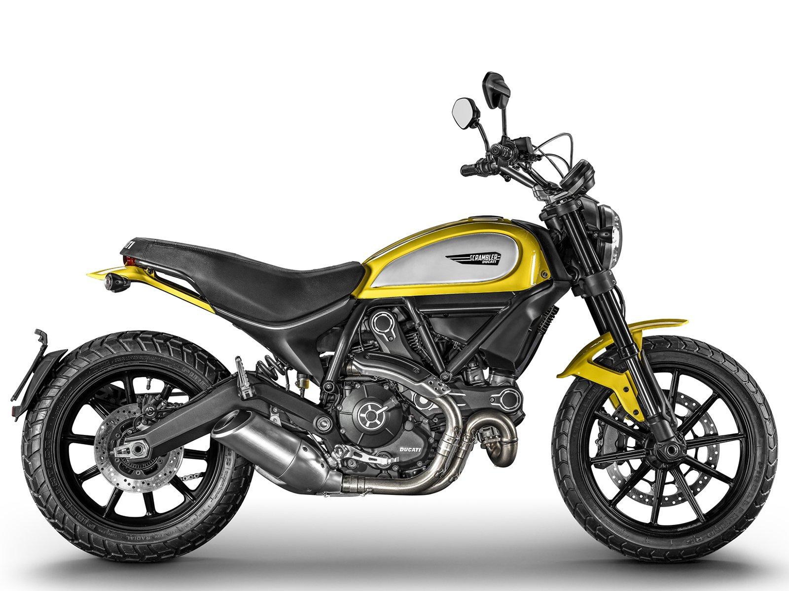Мотоцикл DUCATI Scrambler Icon - Yellow (2017-2018)