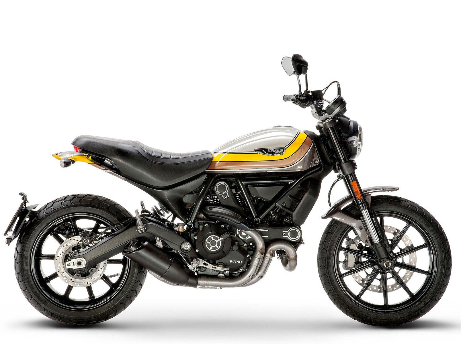 Мотоцикл DUCATI Scrambler Mach 2.0 (2018)