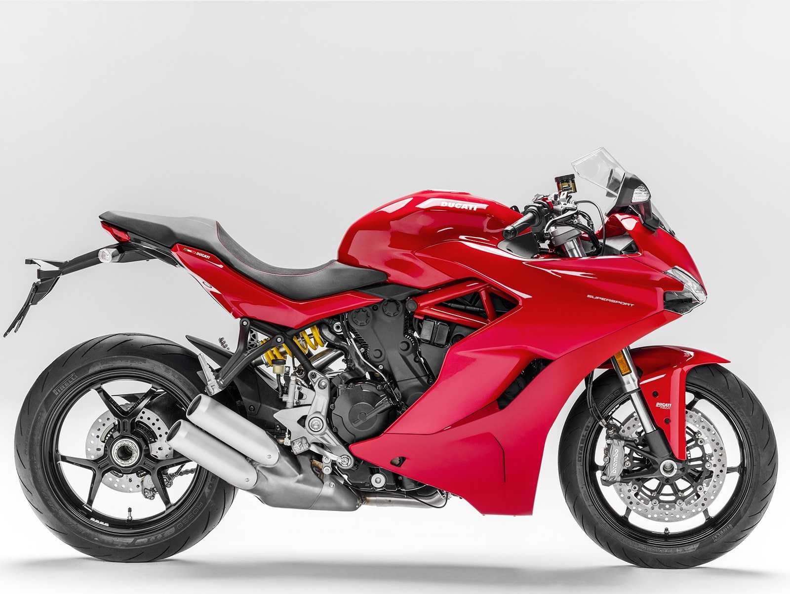 Мотоцикл DUCATI SuperSport - Red (2018)