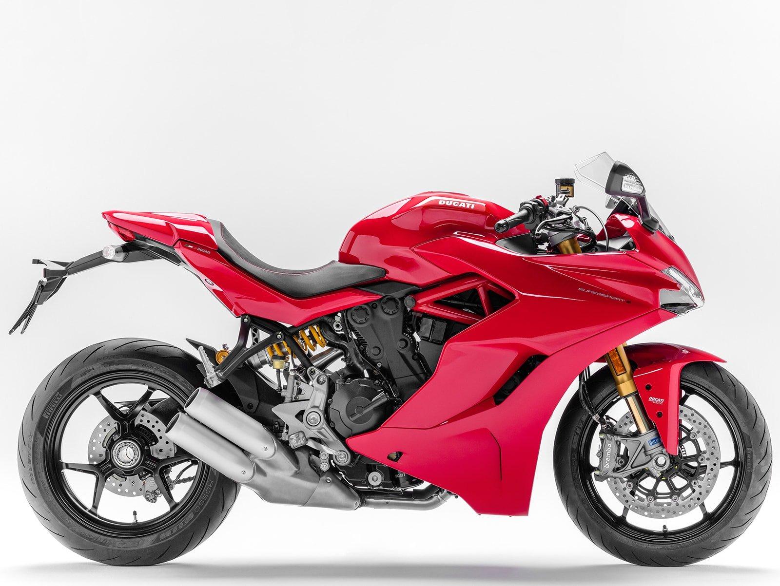 Мотоцикл DUCATI SuperSport S - Red (2018)