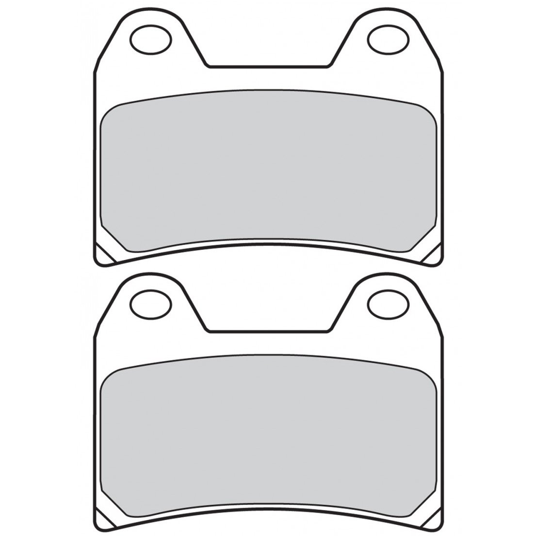 Колодки тормозные Brembo Z04 для Aprilia Tuono V4 03-05