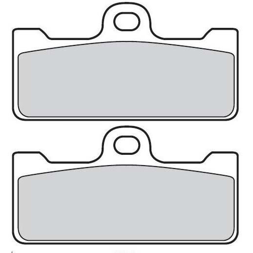 Колодки тормозные Brembo Z04 для суппортов серии GP и P4