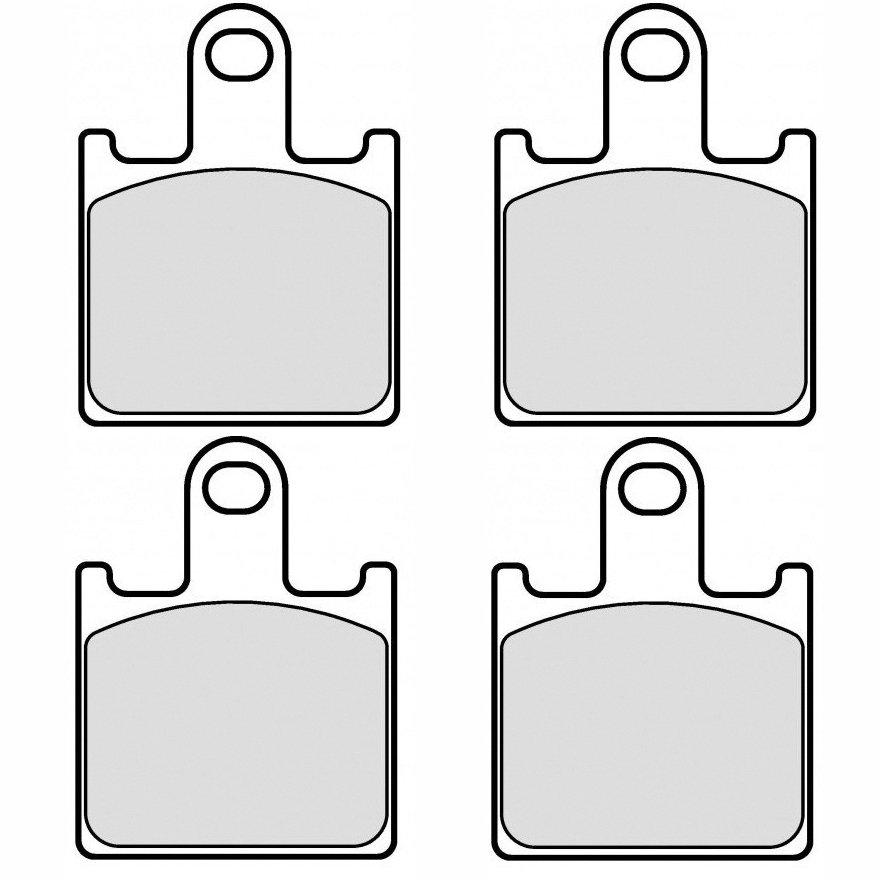Колодки тормозные для Kawasaki ZX-6R 07-15, Z750 11-12, Z1000 07-09, GTR1400 08-15, ZZR-1400 06-16