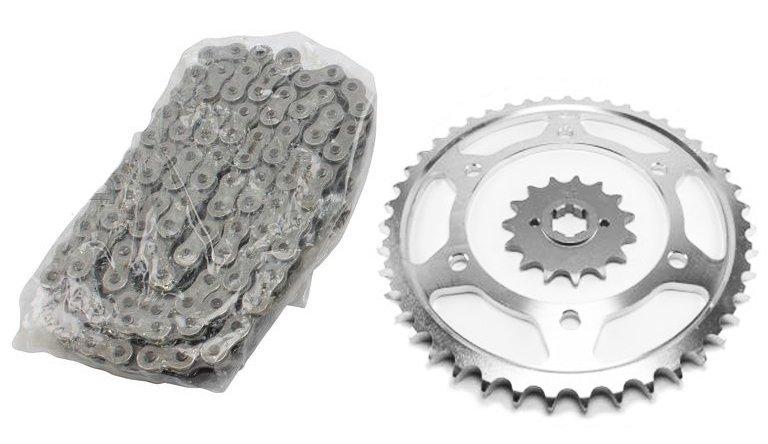 Комплект цепь + звезды для Ducati Monster 400 00-01, Monster 600 98-99, Monster 750 98-01