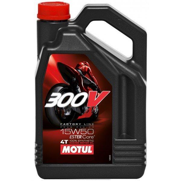 Масло моторное Motul 300V 15W50 4л