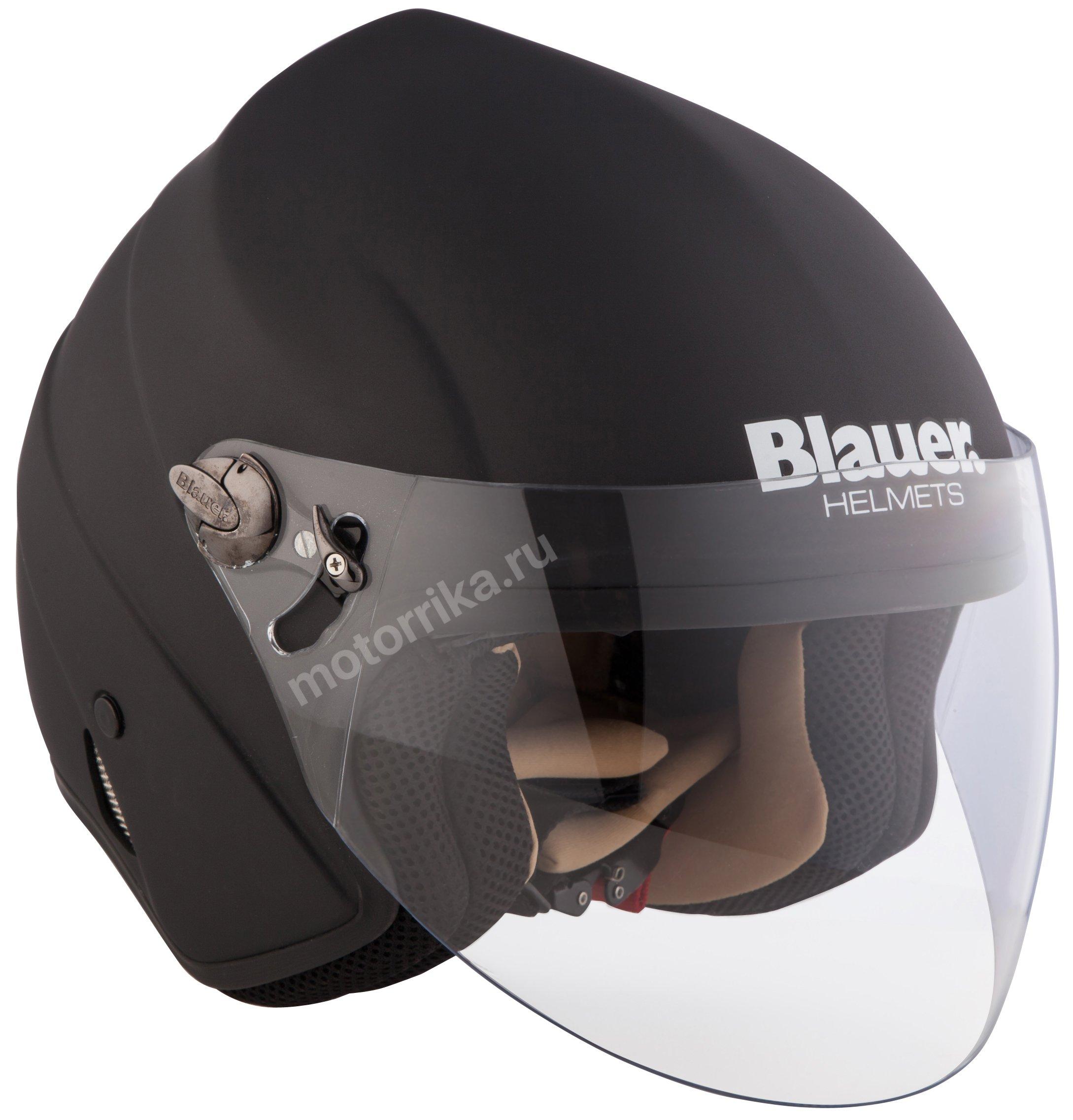 Мотошлем Blauer H.T. Boston Monochrome Black
