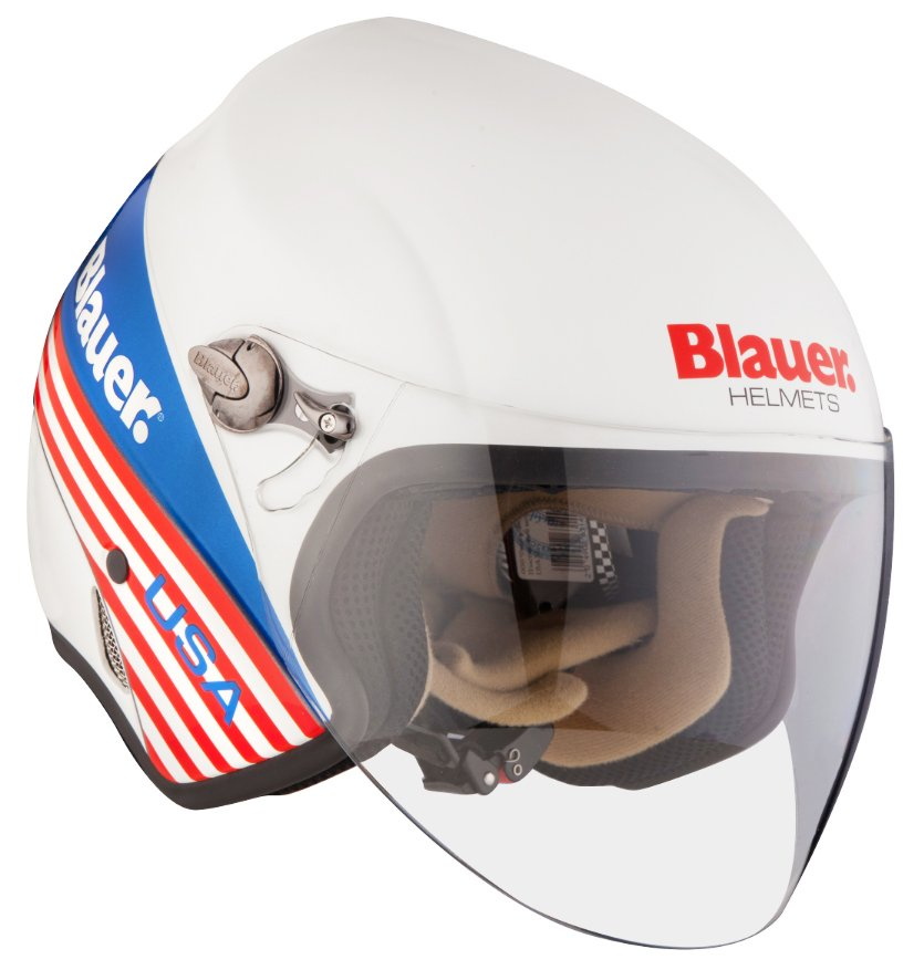 Mотошлем Blauer H.T. Boston White USA