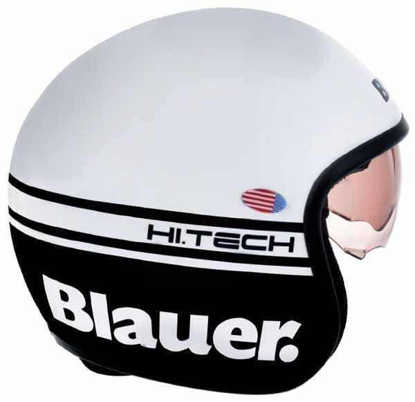 Мотошлем Blauer H.T. Pilot White Matt
