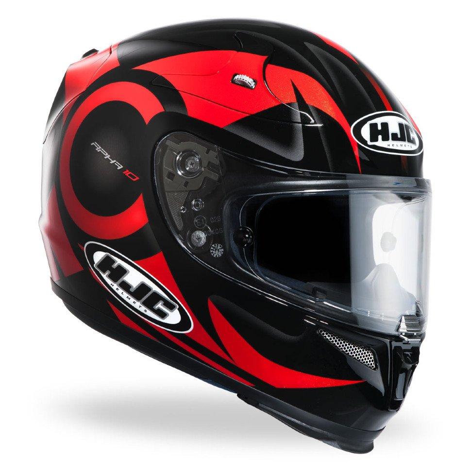 Мотошлем HJC RPHA10 Plus Furia Black/Red