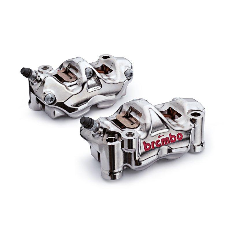 Суппорты тормозные передние Brembo (модель GP4-RX, 100 мм, к-т из 2 штук)