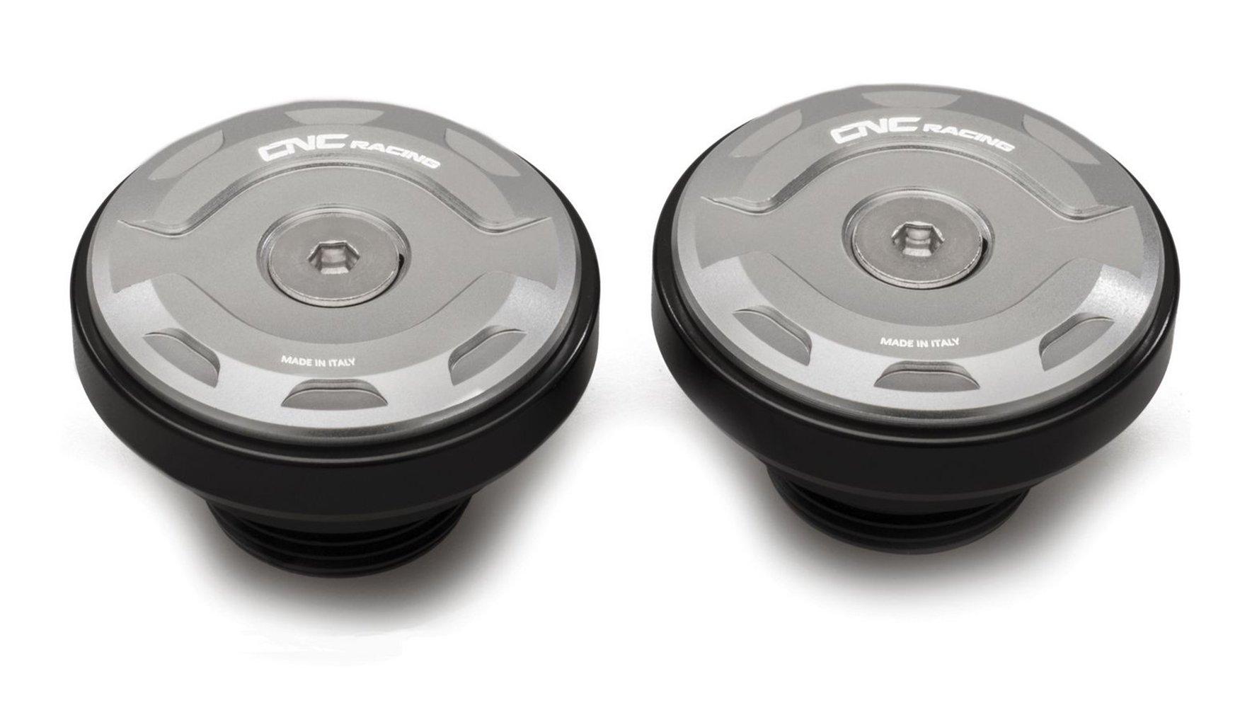 Заглушки в ось маятника CNC RACING PEV04S Silver для Ducati Diavel 19-20 / XDiavel 16-20