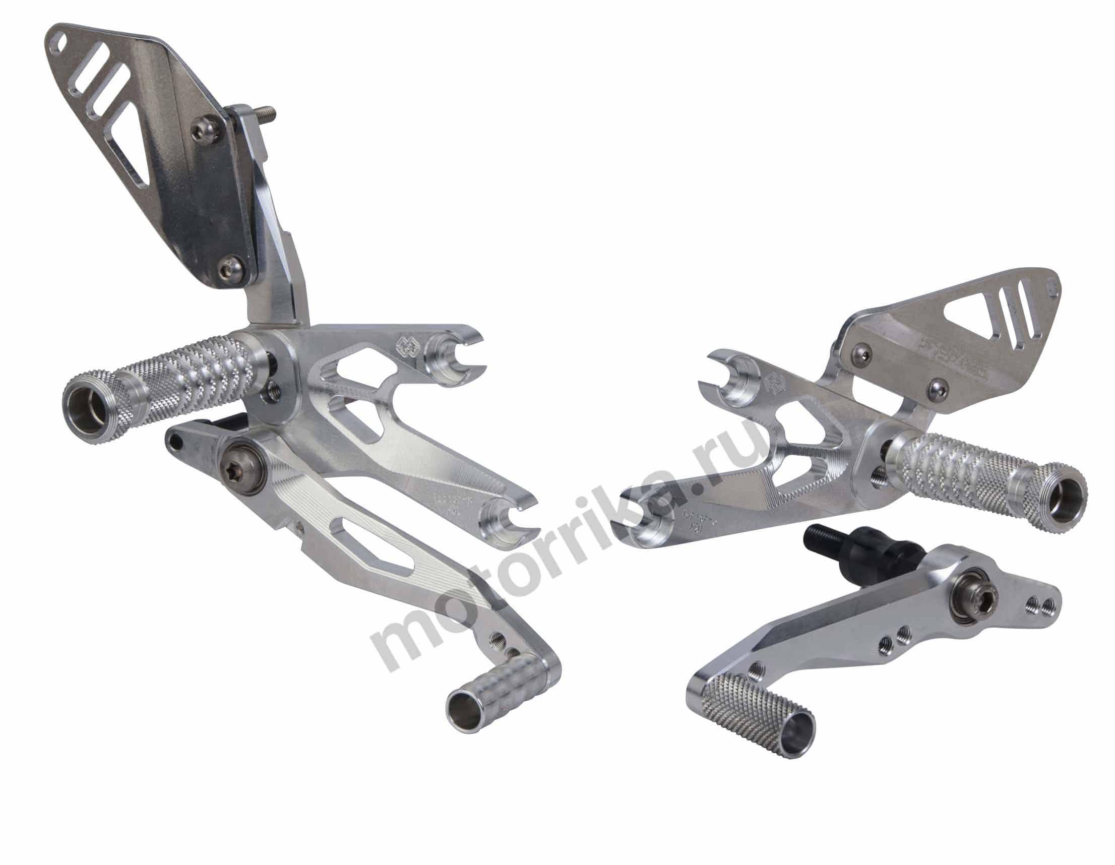 Комплект регулируемых подножек Gilles Tooling для Honda CBR1000RR 08-14