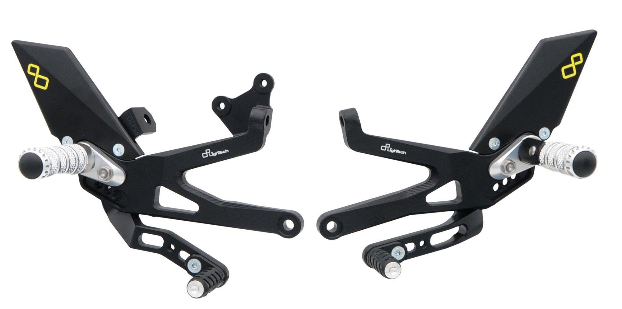 Комплект регулируемых подножек Lightech для Ducati Panigale V4/R/S 18-20