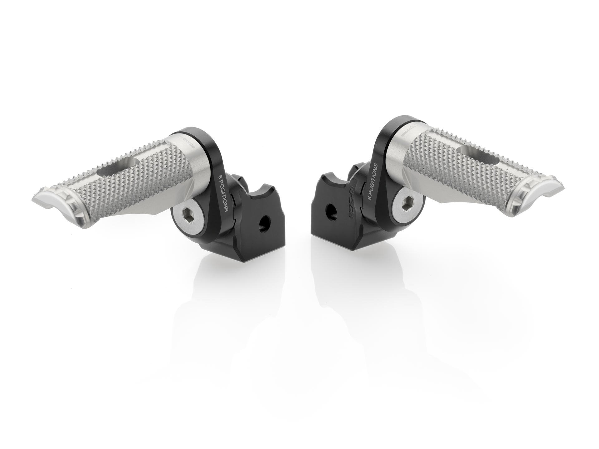 Адаптеры передних подножек Rizoma для Ducati Hypermotard 821 SP 14-15, Scrambler 15-16, Monster 821 15-16, Monster 1200 15-16, Multistrada 1200 15-16