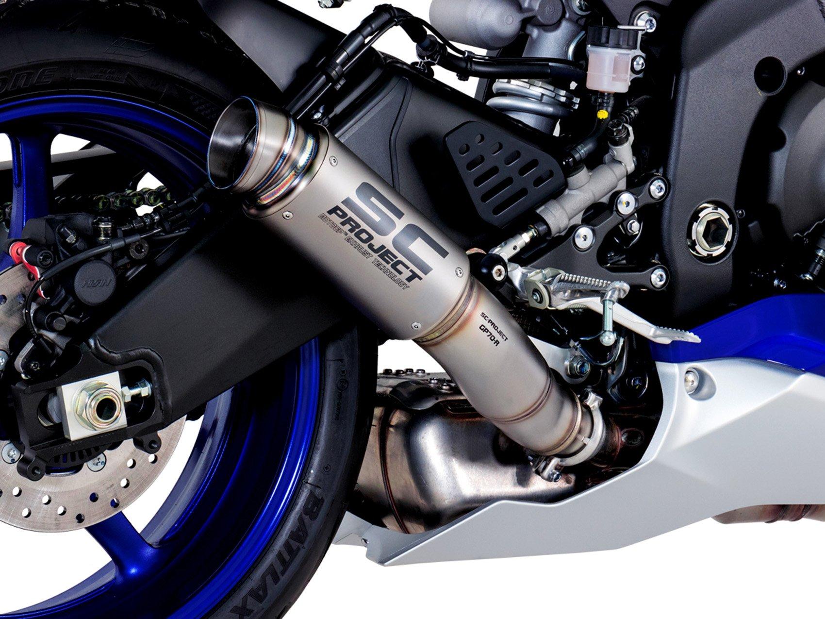 Глушитель SC Project GP-70R для Yamaha R6 17-19