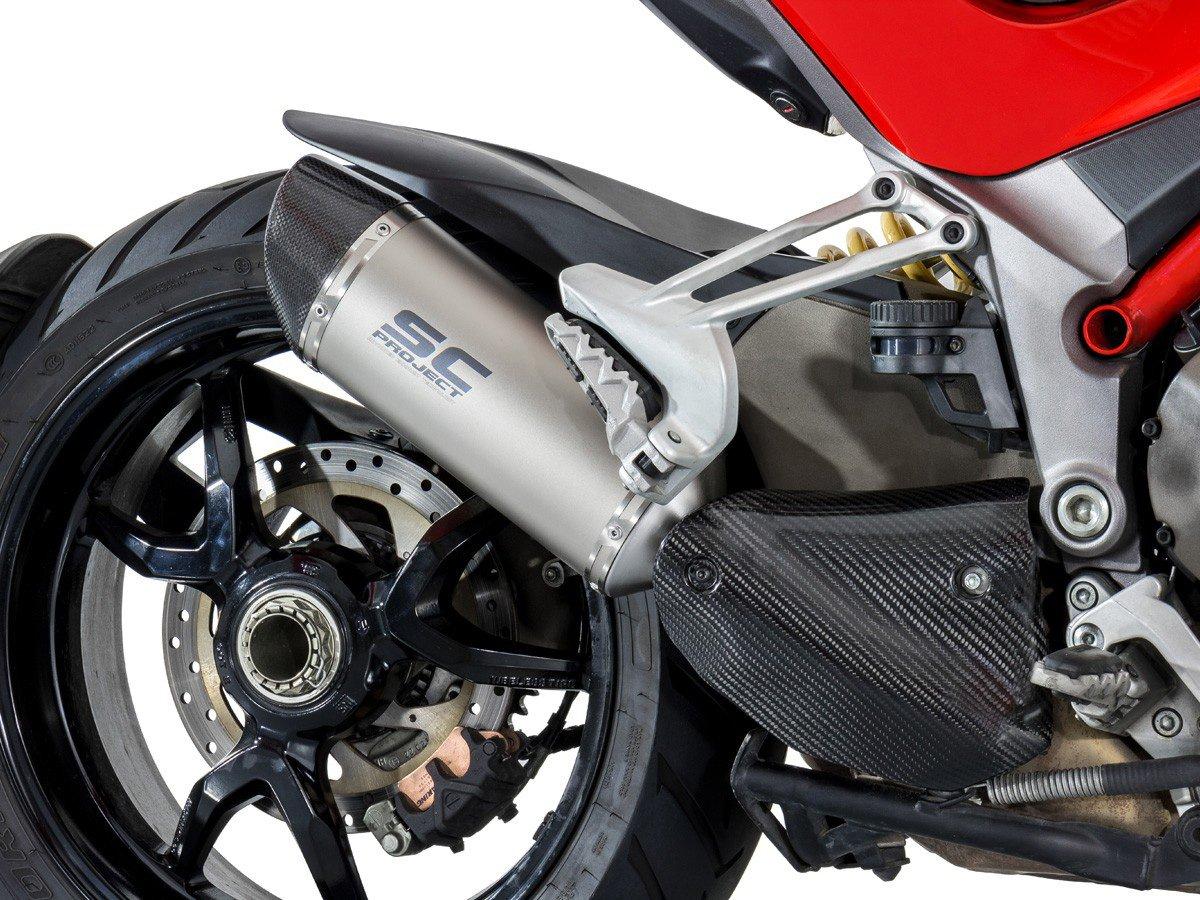 Глушитель SC Project Oval для Ducati Multistrada 1200 15-17 город